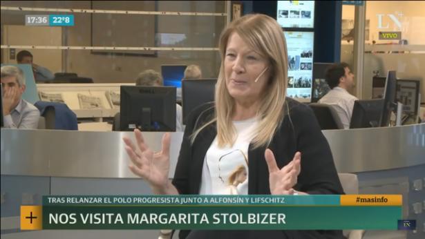 Margarita Stolbizer LN+ 7/11/18