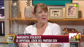 Margarita Stolbizer en DEBO DECIR 20/1/19
