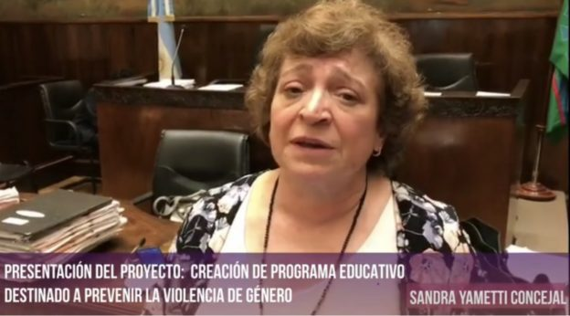 "MORÓN- PROYECTO ""CREACIÓN DE PROGRAMA EDUCATIVO DESTINADO A PREVENIR LA VIOLENCIA DE GÉNERO""."