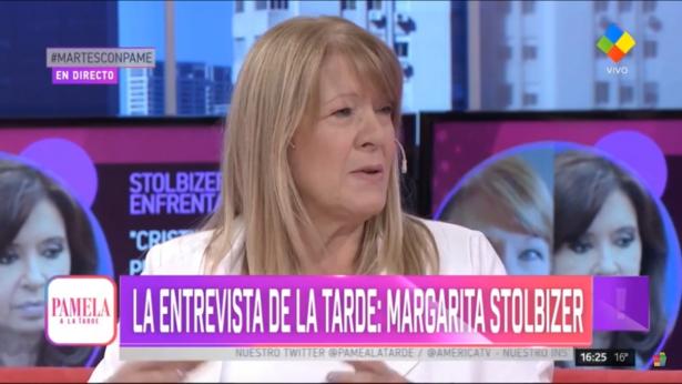 Margarita Stolbizer en PAMELA A LA TARDE 19/3/19