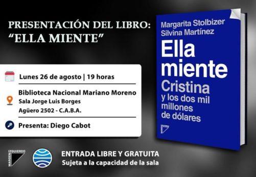 """PRESENTACIÓN DEL LIBRO """"ELLA MIENTE"""""""