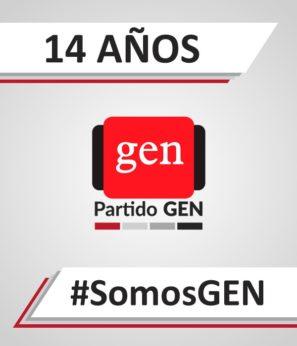 14 AÑOS PARTIDO GEN