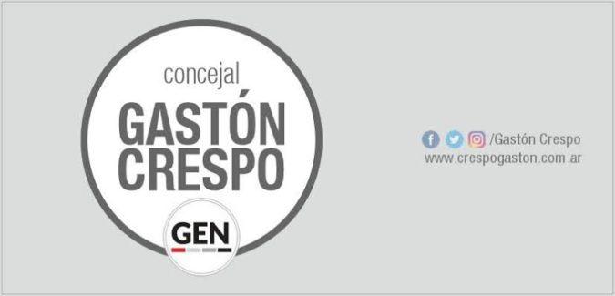 CRESPO SOLICITA UNA CAMPAÑA PARA COMBATIR EL DENGUE