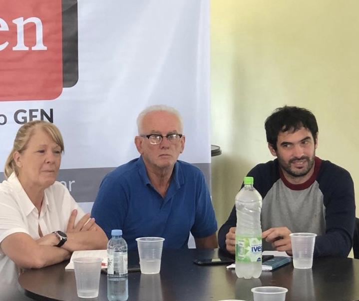 Pinamar: Stolbizer habló de la coparticipación de la Provincia de Buenos Aires con dirigentes regionales