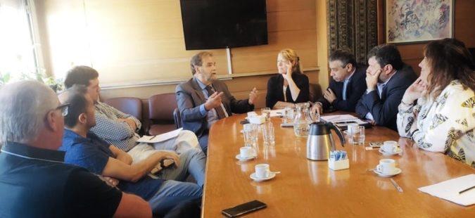 Referentes del Partido GEN se reunieron con Eugenio Semino