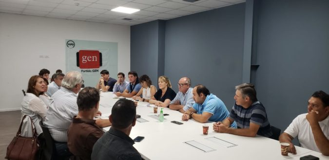 El Partido GEN de la 6ta sección electoral se reunió en Bahía Blanca